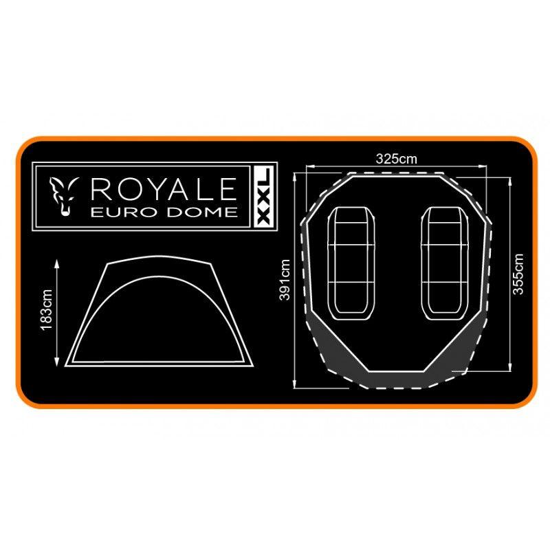 333a51a2fa Namiot Fox Royale XXL Euro