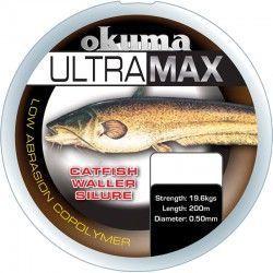 Żyłka Okuma Ultramax 0,50mm/200m sum, brązowa