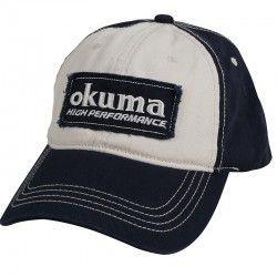 Czapka z daszkiem Okuma Full Back Two Tone Blue Patch Hat