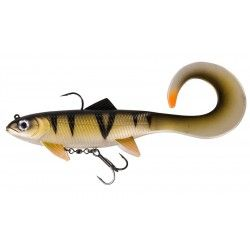 Przynęta DAM Effzett Pike Seducer Curl Tail 23cm/130g Perch