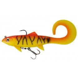 Przynęta DAM Effzett Pike Seducer Curl Tail 23cm/130g Orange Perch