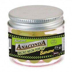 Kulki Anaconda Micro Neon Popup - Banan (15g)