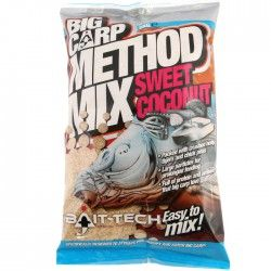 Zanęta Bait-Tech Big Carp Method Mix - Coconut (2kg)