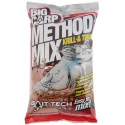 Zanęta Bait-Tech Big Carp Method Mix - Krill & Tuna (2kg)