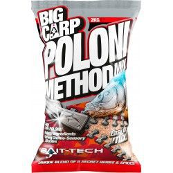 Zanęta Bait-Tech Big Carp Method Mix - Poloni (2kg)