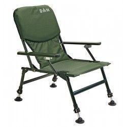 Fotel DAM stalowy z podłokietnikami
