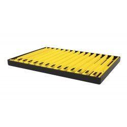 Tacka z drabinkami Matrix 18cm, kolor: żółty (2szt.)