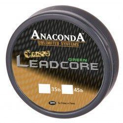 Plecionka Anaconda Camou Leadcore Brown 45lb/10m