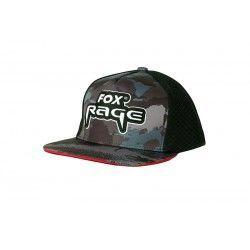 Czapka z daszkiem Fox Rage Camo Flat Peak Trucker Cap