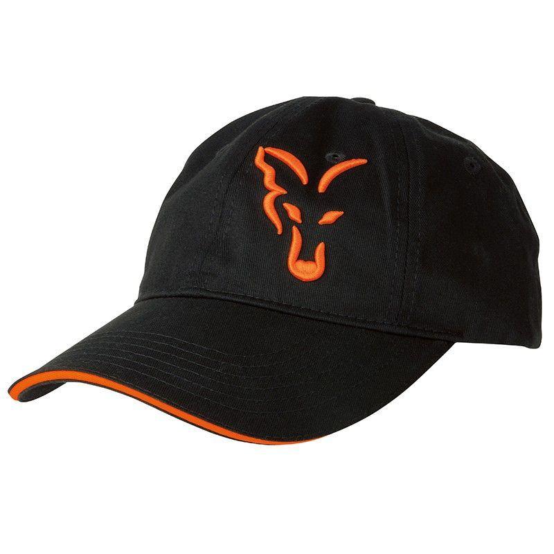 1dcaad054f4846 Czapka z daszkiem Fox Black/Orange Baseball Cap