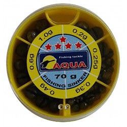 Zestaw śrucin Aqua 70g
