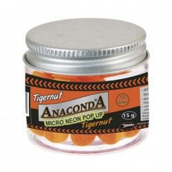 Kulki Anaconda Micro Neon Pop-Up - Orzech Tygrysi, 10mm (15g)