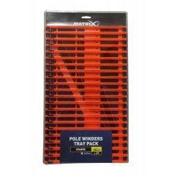 Tacka z drabinkami Matrix 26cm, kolor: pomarańczowy