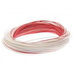 Linka podkładowa w otulinie Scierra 30lb 30m - czerwony/biały