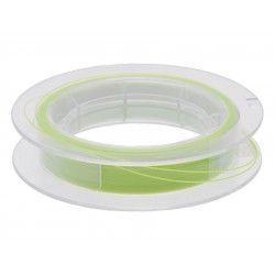 Linka podkładowa okrągła Scierra 30lbs 50m - biały/zielony