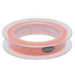 Linka podkładowa okrągła Scierra 50lbs 50m - biały/pomarańczowy
