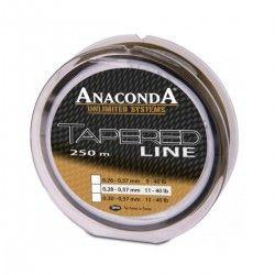 Przypon strzałowy Anaconda Tapered Line 0,30-0,57mm 250m