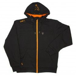 Bluza Fox Black/Orange Heavy Lined Hoody, rozm.S