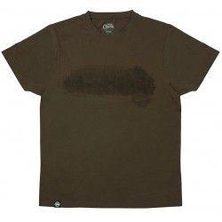 Koszulka Fox Chunk Dark Khaki Scenic T-Shirt, rozm.S
