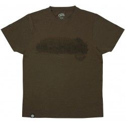 Koszulka Fox Chunk Dark Khaki Scenic T-Shirt, rozm.XXXL