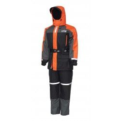 Kombinezon pływający DAM Outbreak Floation Suit Fluo Orange/Black, rozm.S