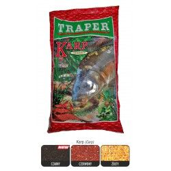 Zanęta Traper Karp sekret - czarny (1kg)