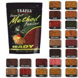 Zanęta Traper Method Feeder Ready - Halibut czerwony (750g)
