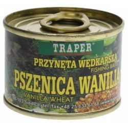 Przynęta naturalna Traper 140g - Pszenica wanilia
