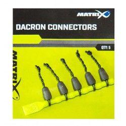 Łączniki Matrix Dacron Connectors Small (5szt.)