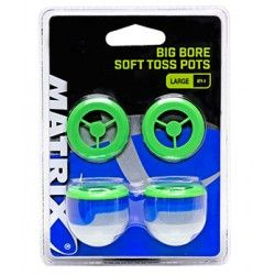 Kubek zanętowy Matrix Big Bore Flexi Toss Pots Medium (2szt.)