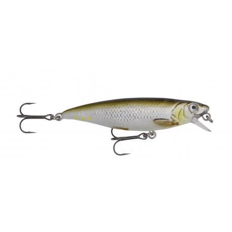 Wobler Savage Gear 3D Twitch Minnow 6,6cm/5g - Green Silver Ayu