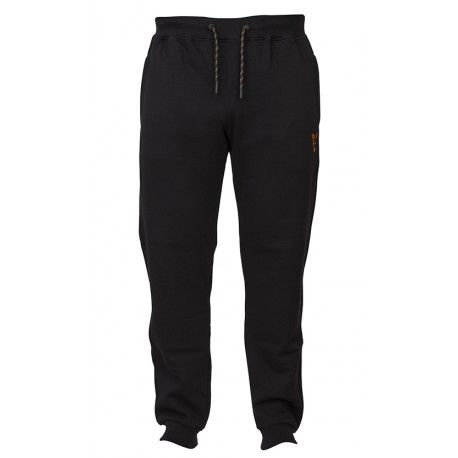 Spodnie Fox Collection Black/Orange Joggers, rozm.S