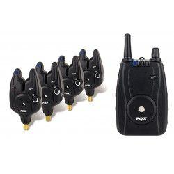 Zestaw sygnalizatorów Fox Micron MR+ Set 3+1 Blue