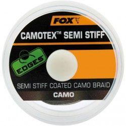 Plecionka przyponowa Fox Edges Camotex Semi Stiff 20lb/20m Camo