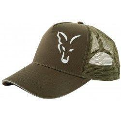 Czapka z daszkiem Fox Green/Silver Trucker Cap