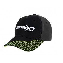 Czapka z daszkiem Matrix Grey/Lime Baseball Hat
