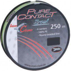 Plecionka Iron Claw Pure Contact Braid 0,11mm/250m