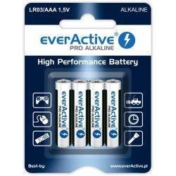 Baterie EverActive 1,5V AAA LR03 (4szt.)