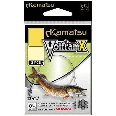 Przypon Kamatsu Wolfram X 30cm/15kg (2szt.)