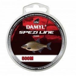 Żyłka DAM Damyl Spezi Line Feeder 0,18mm/500m, ciemnobrązowy