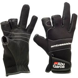 Rękawice neoprenowe Abu Garcia Stretch Gloves, rozm.L