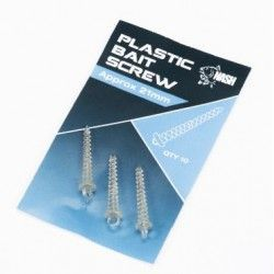 Wkrętka do przynęt Nash Plastic Bait Screw 21mm (10szt.)