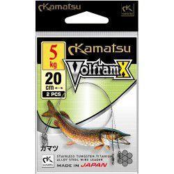Przypon Kamatsu Wolfram X 20cm/5kg (2szt.)