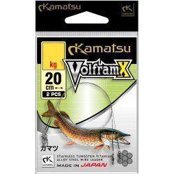 Przypon Kamatsu Wolfram X 20cm/10kg (2szt.)
