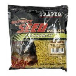 Ziarno zanętowe Traper - Pęczak żółty wanilia (500g)