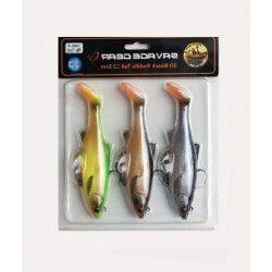 Zestaw przynęt gumowych Savage Gear 3D Roach Ready to Fish 7,5cm/9g (3szt.)