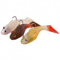 Ryby gumowe Specitec 10cm, Zestaw A (3szt.)