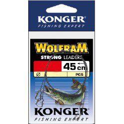 Przypon Konger Wolfram Strong 45cm/15kg (2szt.)