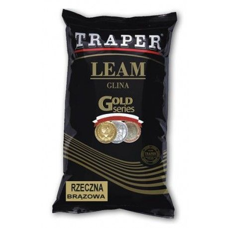 Glina Traper rzeczna brązowa 2kg