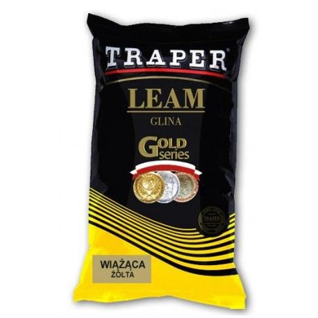 Glina Traper wiążąca żółta 2kg